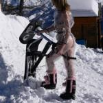 Malej kopec – Snowscoot testing