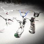 snowscoot testing – Fe vs Al vs Ti