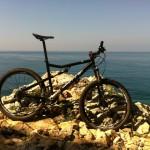Coastal biking