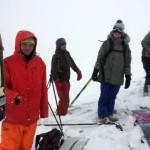 První sníh v Krakonoších