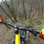 Front brake only – video