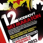 12 h maraton na lyžích nebo snb – řežba v noci na Monínci !
